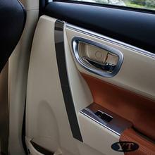Автомобильная внутренняя дверная ручка отделка молдинг для toyota