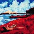Профессиональный живописный ручной муслиновый фон для фотосъемки FSE26  10фт x 10фт ручной росписью