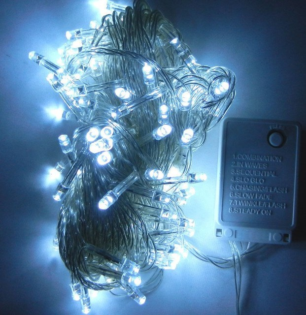 9 colors connectable led christmas lights indoor outdoor decoration 10m 100leds led string lights us eu