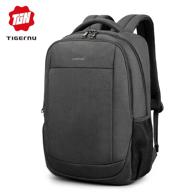 Tigernu Brand USB Charging Male Backpack Anti theft  15.6″Laptop business Backpack Bag Women school bag Mochila for men