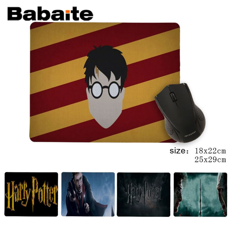 Babaite Your Own Mats <font><b>HarryPotter</b></font> Bitch Beautiful Anime Mouse Mat Anti-Slip Durable Silicone Computermats Mousepad image