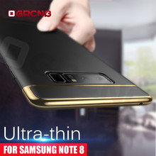 3 in 1 Protective Hard PC Case For Samsung Note 8 Phone cover cases For Samsung Galaxy S7 Edge S8 Plus S6 Edge Plus case