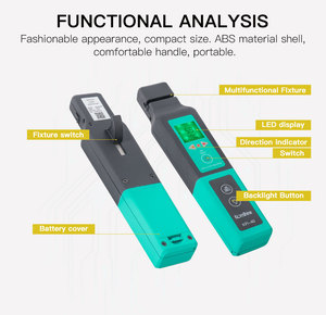 Image 5 - Multi Chuck Komshine KFI 40 FTTH Live Fiber Identifier Suitable for 800 1700nm SM MM Fiber Detector Cable Tester