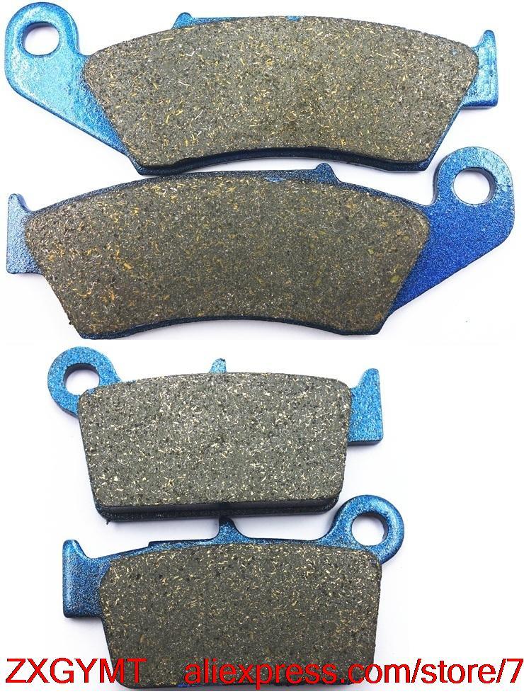 Moto Carbone jeu de plaquettes de frein pour SUZUKI RM-Z450 RMZ450 RMZ 450 RM-Z 450 Efi 2008 & up