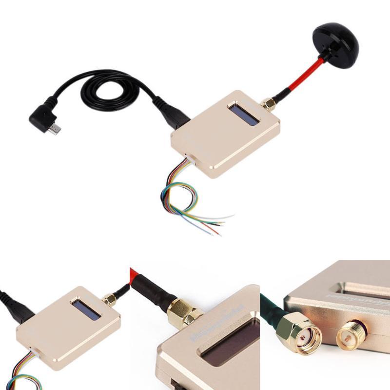 Récepteur vidéo Mobile sans fil avec antenne OTG Connect Smartphone tablette doré FPV 5.8G récepteur VMBate RC