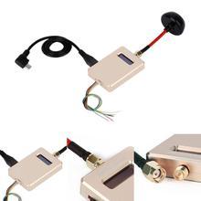 Беспроводной мобильное видео ресивер с Телевизионные антенны OTG подключить смартфон Планшеты Золотой FPV-системы 5.8 Г vmbate RC приемник