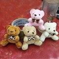 Массовая 40 шт. х 2.8 дюймов (7 см) Плюшевые Мишки тедди Крошечный Маленький Миниатюрный Кукольный Дом Craft Sitting медведь С Бантом