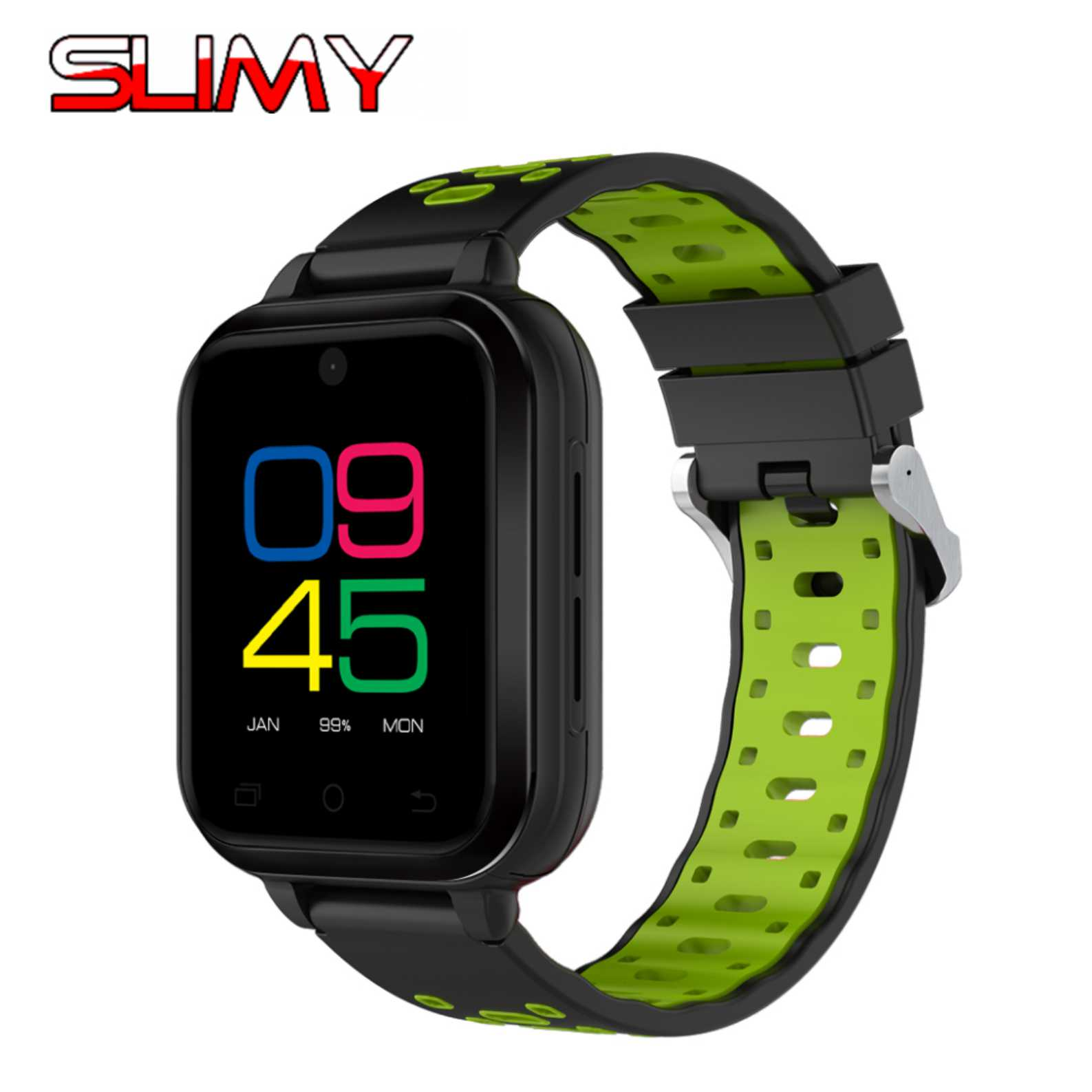 Slimy New 4G LTE Smart Watch Q1 Pro Android 6.0 MTK6737 Quad Core 1G Ram 8G Rom Heart Rate Monitor Wifi GPS SIM Card 2MP Camera