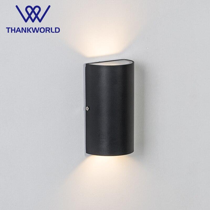 VW Luminaire galleri væglampe 10w LED veranda lys ip65 udendørs væglamper aluminium udendørs belysning ledet udvendigt lys 220v