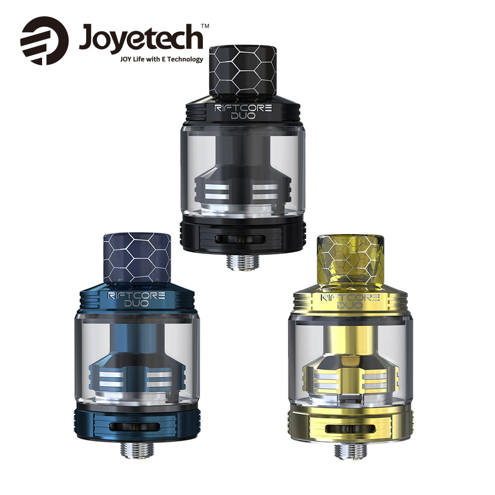 Electronic Cigarette Joyetech RIFTCORE DUO Atomizer 3 5ml Vape Tank New Concept Coil RTA By Self