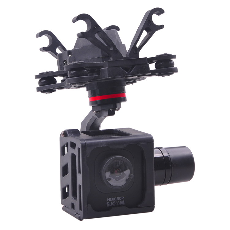 HMG SJM10 3-Axle Brushless Gimbal with AV Output for SJCAM M10 SJM10 WIFI Camera DIY FPV RC Quadcopter Drone F18264 nixon comp s
