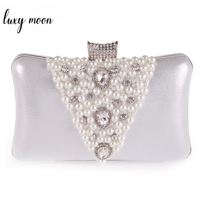 Luxury Diamond Evening Clutch Bags Purple Gold Day Clutch Black Silver Clutches Wedding Purse Chains Shoulder Bags ZD403
