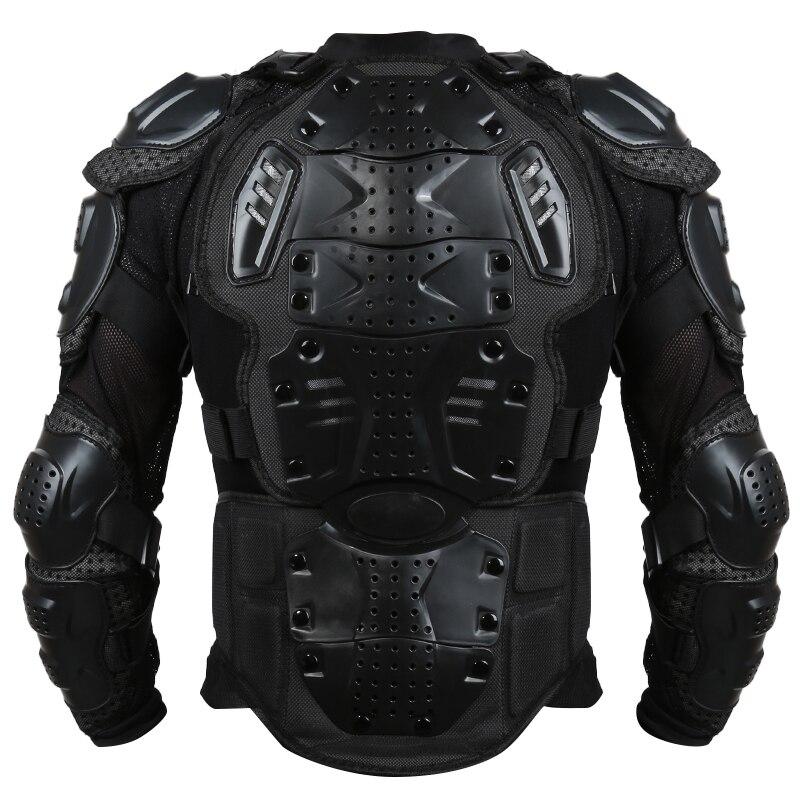 Liplasting Pieno moto rcycle Body Armor Giacca Camicia moto cross Posteriore Della Spalla Protector Gear S-XXXL Nero Veste de moto XNC