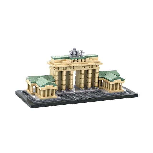 Loz Welt Beruhmte Architektur Nanoblock Brandenburger Tor Berlin