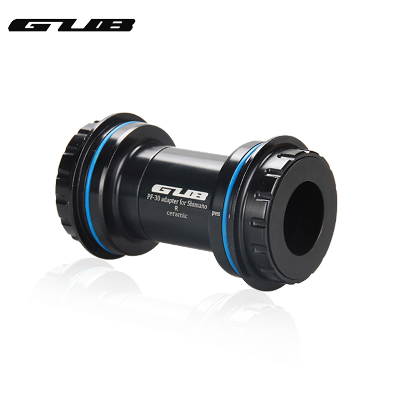 GUB PF30 BB30 Ceramic Bearing Bottom Bracket 30 to 24/22mm For SHIMANO Sram Crankset GXP MTB Road Bike BB Crank Set Axis-in Bottom Brackets from Sports & Entertainment    1