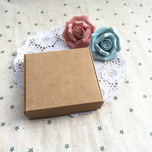 200 pcs Kraft Paper Box Jewel Gift Soap Box Paper Packaging Box Gift packaging Box,Snacks, Party, Favor,Wedding, Bread Handmade
