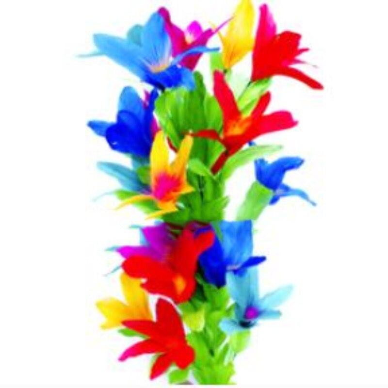 Livraison gratuite acier magique disparaître canne à fleur (19 fleur) canne à fleur baguette et bouquet tours de magie