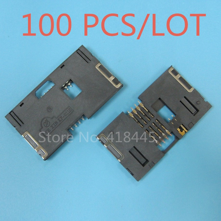100PCS LOT IC card connector for electricity meter water meter IC Card reader holder smart type