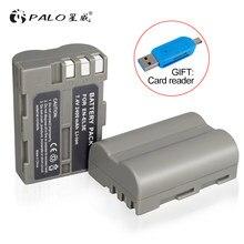 Batterie pour appareil photo numérique, 2 x PALO EN-EL3e EN EL3e EL3a en3e pour Nikon D300S D300 D100 D200 D700 D70S D80 D90 D50 MH-18A