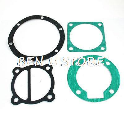 10 in 1 Air Compressor Cylinder Head Base Valve Plate Gaskets Washers
