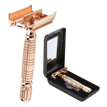 Double Edge Blades Razor Safety Alloy Razor  Manual Shaving Razor Top Quality with Packing