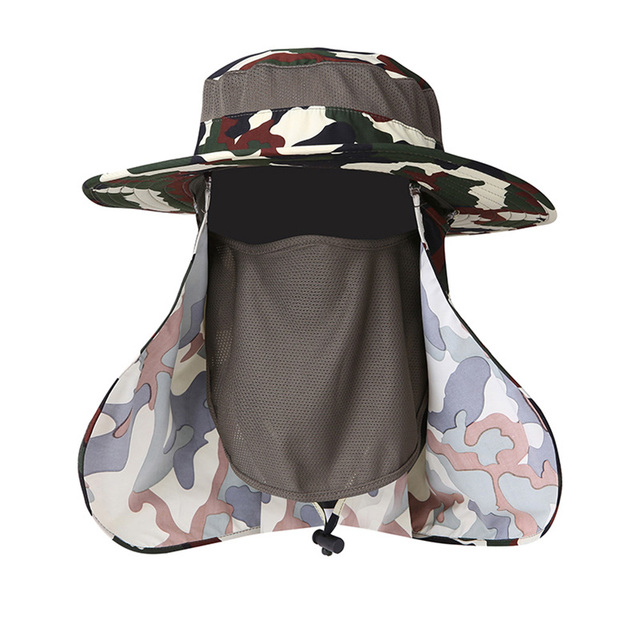 Quick Drying Sun Protection Hat and Mask Be Gone Pesky Flies !