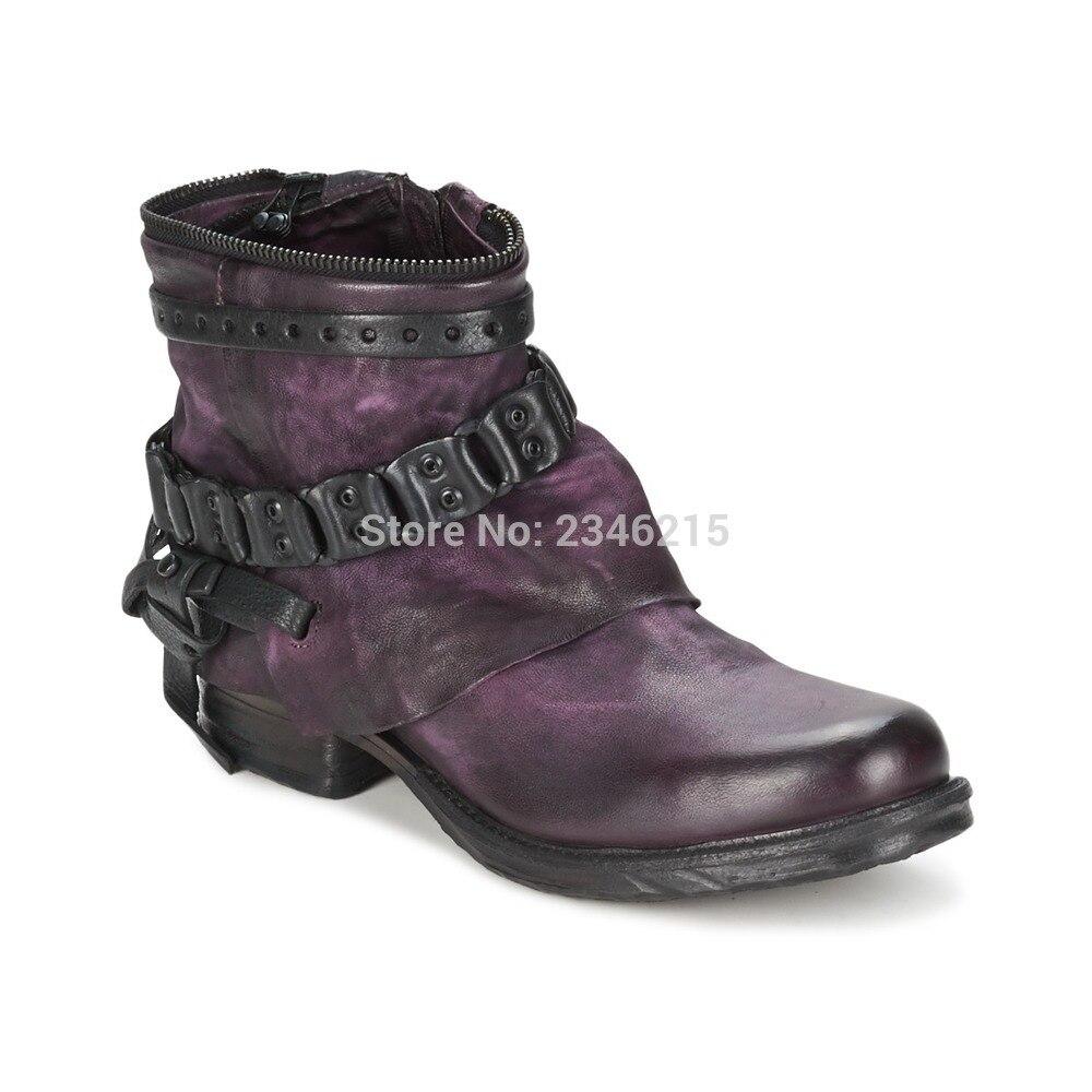 Элитный бренд кожа Мотоботы до середины икры Для женщин Непромокаемые сапоги на платформе мотоциклетные осень зима ковбой Сапоги и ботинки