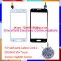 """Negro Blanco 4.5 """"para galaxy core 2 duos sm-g355h g355 táctil panel táctil pantalla digitalizador del sensor frontal lente de cristal [Código de seguimiento]"""