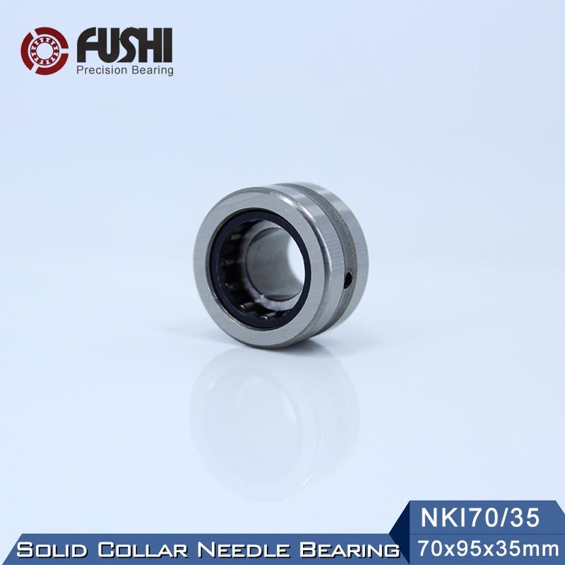 NKI70/35 Bearing 70*95*35 mm ( 1 PC ) Solid Collar Needle Roller Bearings With Inner Ring NKI 70/35 Bearing все цены