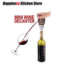 Electric Mini Wine Decanters Pump Dispenser Plastic Breather Sobering Tools Kitchen Accessories
