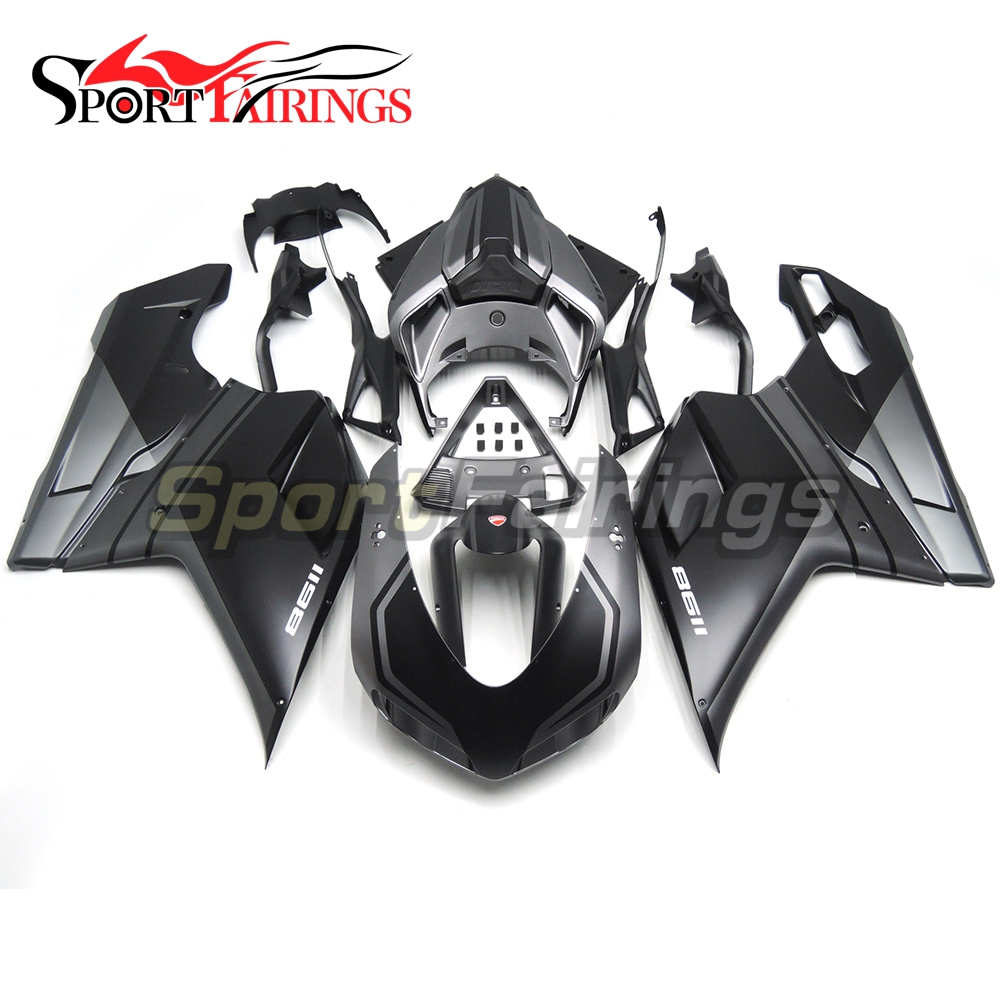 Gray Black Injection ABS Plastic Fairing Kit For Ducati 1098 848 1198 Year 2007 2008 2009 2010 2011 2012 Motorcycle Cowlings hot sales body kit for yamaha fjr1300 2007 2008 2009 2010 2011 fjr 1300 07 08 09 10 11 fjr 1300 sliver abs motorcycle fairing