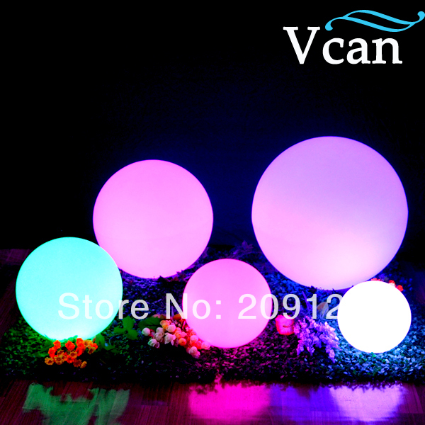 Waterproof Remote Control LED Decoration Sphere ball to outdoor as furniture VC-B500 best quality waterproof outdoor led cube vc a400 furniture to eventing in 2016