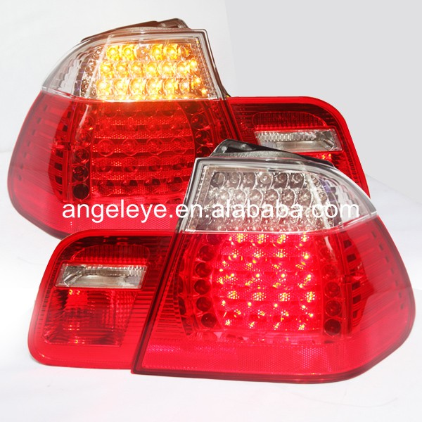 For BMW for E46 320 328 325 LED Tail Lamp rearlights 4 doors 2002-2005 year Red White Color LF игрушка 31 век lf 2005