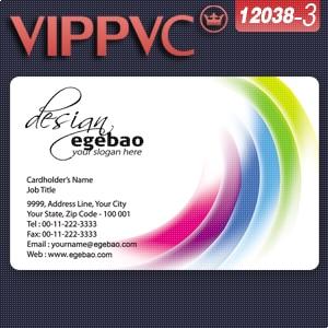 c12038-3 PVC plastic card  design templates and print business cards 200 pcs 85.5*54mm