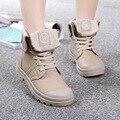 Ботинки женщин новый 2015 женский зима и осень мода женщины мартин сапоги плоские старинные ботильоны 2 цвета