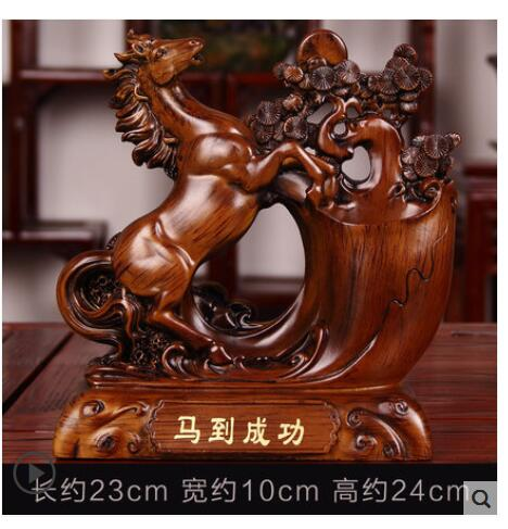 Gift pen holder up by cash register company Sitting room office desk table wine cabinet TV cabinet opening decorat crafts statue