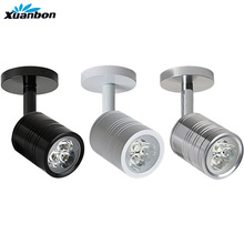 Светодиодный настенный светильник AC90-260V 3 Вт 5 Вт современный прикроватный светильник для спальни черный серебристый белый светильник регулируемый настенный светильник