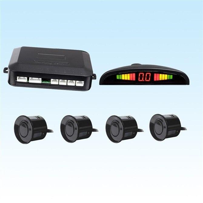 Car LED Parking Sensor Kit 4 Sensors 22mm Backup Light Display Reverse Radar Monitor System 12V 6 Colors - On-line Services Sports Shoes Store store