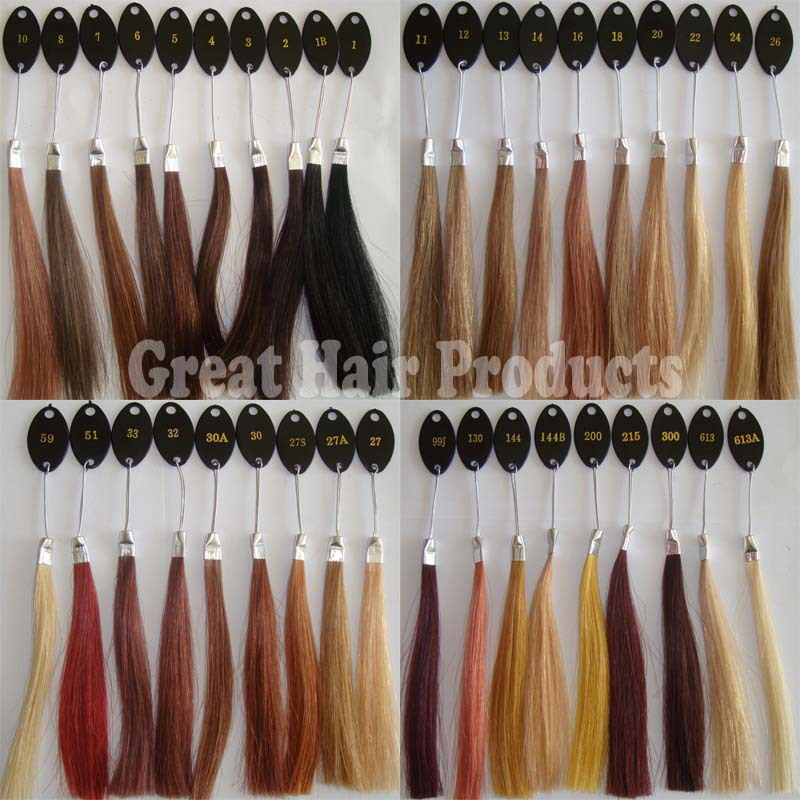 Stock Factory Wholesale 100% Human Hair Color Ring/Color