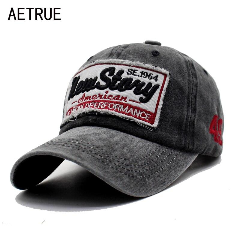 AETRUE Männer Hysterese Casquette Frauen Baseballmütze Dad Marke Knochen hüte Für Männer Hip hop Gorra Mode Bestickt Vintage Hut Caps