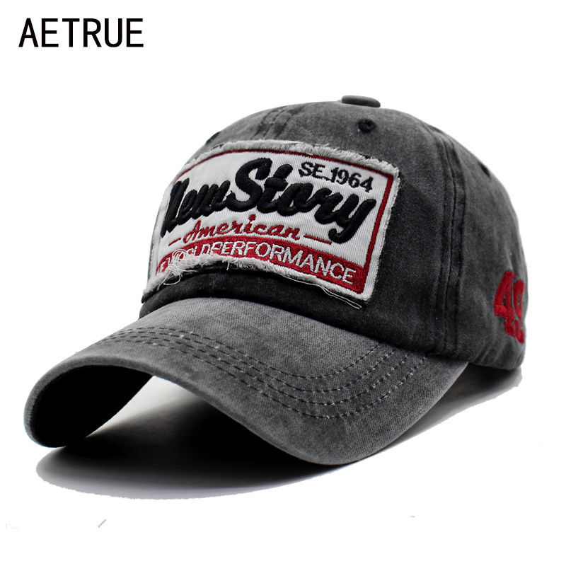 AETRUE Men Snapback Casquette Women Baseball Cap Dad Brand Bone Hats For Men Hip hop Gorra Fashion Embroidered Vintage Hat Caps aetrue winter knitted hat beanie men scarf skullies beanies winter hats for women men caps gorras bonnet mask brand hats 2018