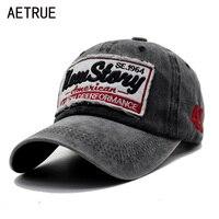 AETRUE الرجال Snapback Casquette النساء قبعة بيسبول أبي ماركة العظام القبعات للرجال الهيب هوب Gorra موضة مطرزة خمر قبعة قبعات-في قبعات البيسبول من الملابس والإكسسوارات على