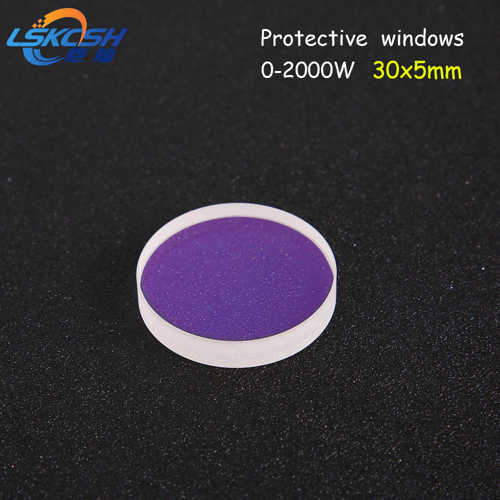 LSKCSH Precitec/WSX fiber laser head protection Lens Mirrors /protective windows 30*5mm 2000W Fused silica  P0795-1201-00001LSKCSH Precitec/WSX fiber laser head protection Lens Mirrors /protective windows 30*5mm 2000W Fused silica  P0795-1201-00001