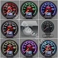 """Gre ** y Gauge Medidor De Temperatura Del Aceite 7 Pantalla a Color LCD Con Tensión de Luz Indicador De Temperatura Del Aceite 62mm 2.5 """"con Sensor Greddi Calibre"""