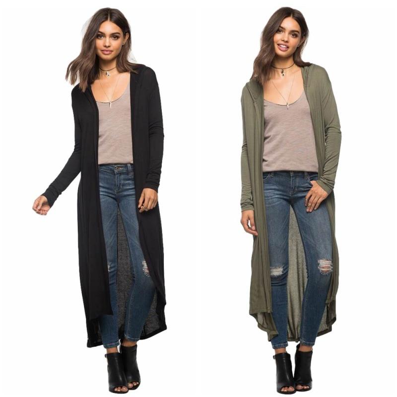 Fashion Spring Autumn Sweaters Women Long Maxi Cardigan Long ...