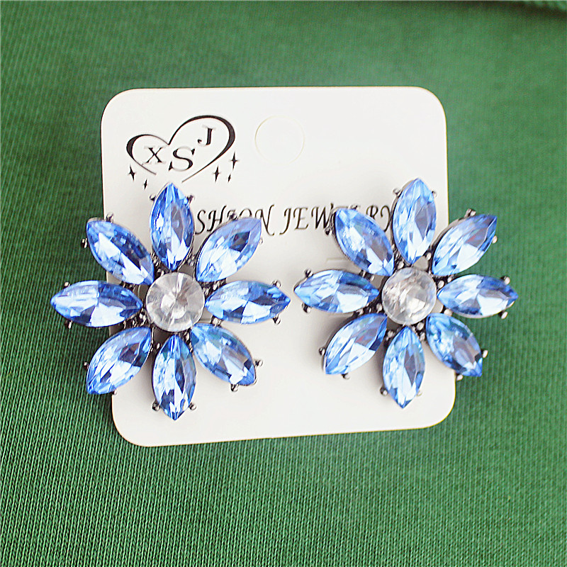 The new fashion gorgeous womens jewelry wholesale girls birthday party beautiful and high earring gift agent shipping