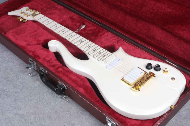 prince cloud brand electric guitar,Maple fingerboard neck with alder body free shipping(China)
