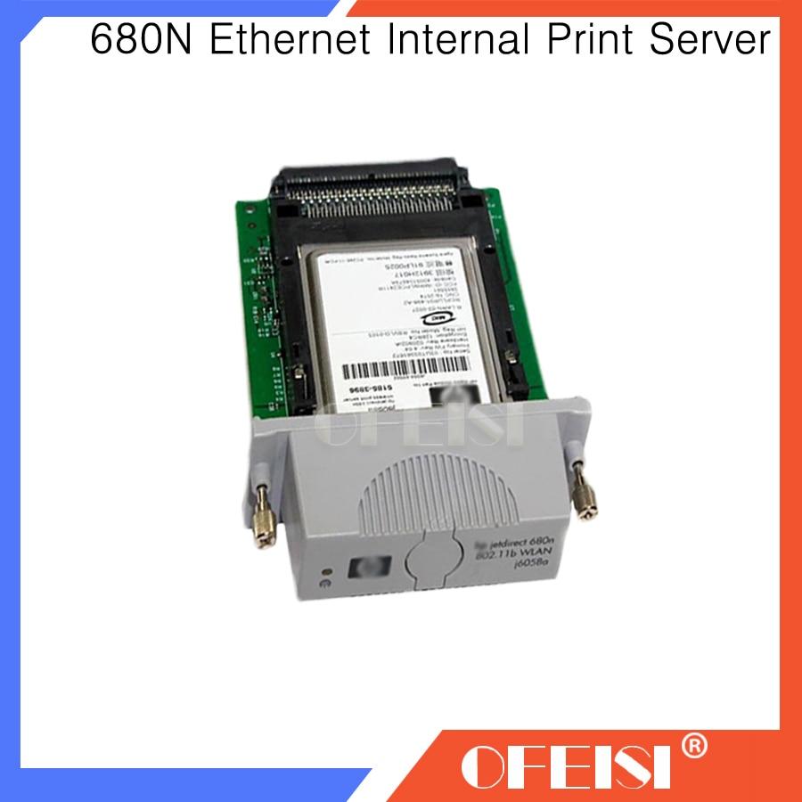 95% nouveau Original J6058A j6058-60002 pour HP jetdirect 680n WLAN carte imprimante pièces en vente