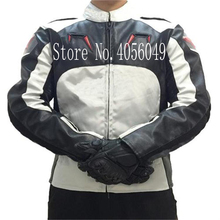 New A stars racing suit suit men and women PU jacket motorcycle riding suit motorcycle anti-fall four seasons waterproof jaqueta four double car racing suit and waterproof f1 racing kart drift racing suit bag mail