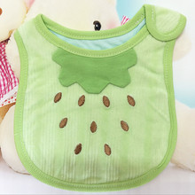 2016 NEW Waterproof Lunch Bibs Children Self Feeding Care Burp Cloths Baby Bibs Boys Girls Infants Cartoon Pattern Bib